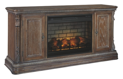 """Chilmore 69"""" TV Stand with Electric Fireplace"""