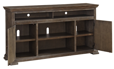 "Woodacre 72"" TV Stand with Electric Fireplace"