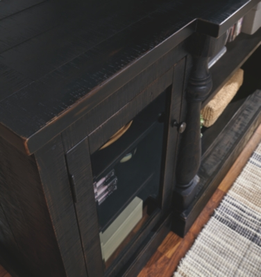 """Mallacar 75"""" TV Stand with Electric Fireplace"""