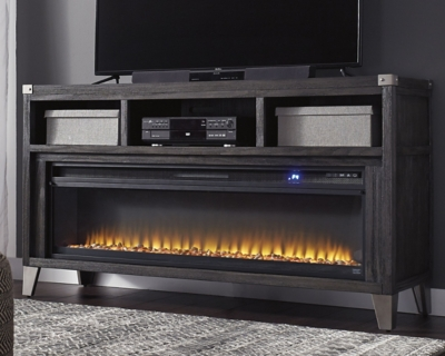 "Toledo 65"" TV Stand with Electric Fireplace"